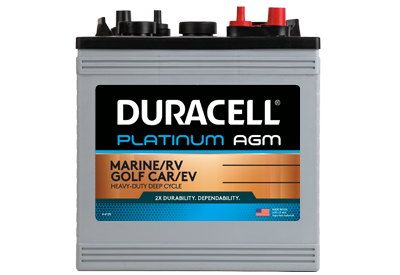 Golf Car - Platinum AGM Series Battery